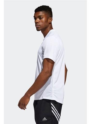 adidas Adidas Erkek Koşu - Yürüyüş T-Shirt Run It Tee M Ed9292 Beyaz